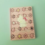 Sanrio Hello Charmmy Kitty Notebook Journal Pink Jewel Spiral Diary Memo Notepad