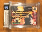 Command And Conquer Nintendo 64 N64 New Sealed Graded Wata 8.5 A+