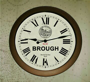Hull And Selby Railway Vintage Style Waiting Room Clock Brough Station Replica.