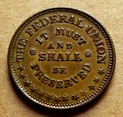 Fuld 219/320a - The Federal Union It Must And Shall Be Preserved / Army And Navy