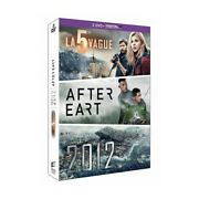 Box 3 Dvd The 5e Wave + After Earth +2012 - New