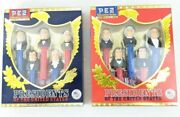 2 Brand New Sealed Pez Presidents Of The United States Vol Ii And Vol Iii Candy