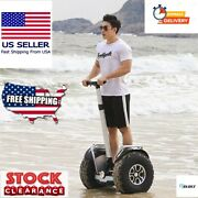 2019 New Powerful Electric Scooter Two Wheels Double Driver 60v 2400w Off Road