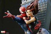 Xm Studios Statue Mary Jane And Spiderman Marvel No Prime 1 Sideshow