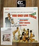 You Only Live Twice Vinyl Lp Sean Connery Original Signed James Bond 007 New