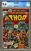 Thor Annual 5 - Cgc 9.6 Wp - Nm+ 1st Toothgnasher Toothgrinder Goats Hercules