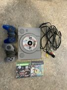 Sony Playstation 1 Ps1 Console W/ 3 Games