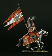 Tin Soldier Museum Top Polish Winged Hussar 1670and039s. 54 Mm