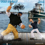 Mezco Toys One 12 Coll Popeye And Bluto Mcstuffins Dlx Set Action Figure