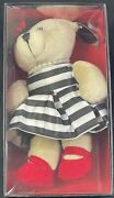 2013 Starbucks Alice And Olivia Bearista Bear Stacey Bender New In Box