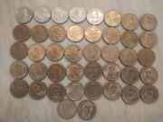 42 Assorted Presidential Dollar Coins Circulated Susan B Anthony Lot