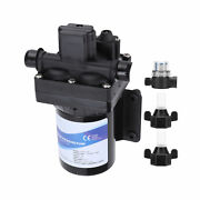 Dc Battery Diaphragm Pump Electric Switch Type 4‑chamber With Filter 3.0gpm Flow
