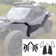 Extended Fender Flares And Lower Door Panels Inserts For Can Am Maverick X3 Turbo