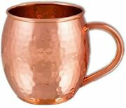 Copper Moscow Mule Mugs Solid Pure Copper Mug Cup Capacity 16 Oz Copper Handle