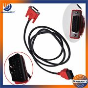 6' Obdii Cable Compatible With Snap On Da-4 Eax0068l00c For Solus Ultra Scanner