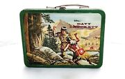 Holtemp Davy Crocket Lunch Box With Thermos C.1955 American Thermos Bottle Co