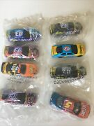 8 Kelloggs Cereal 43 Diecast Nascar Promo Cars Factory Sealed Lot