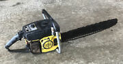 Vintage Mcculloch Super Pro 80 Chainsaw Chain Saw With 20 Bar Xxx