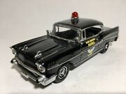 """Matchbox Collectibles 1957 Chevy Bel Air Ohio State Highway Patrol Approx 4.5"""""""