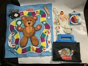 Vintage Fisher Price Toy Doctor Nurse Bag Medical Kit W/tools Accessories 1997