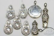 Heirloom Reo Sterling Silver Sewing Set Replica Repousse Art Nouveau 41.2gr21598