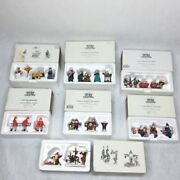 Department 56 Christmas Heritage Village Collection Accessories - Lot 7 Boxes