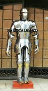 Medieval Knight Wearable Suit Of Armor Crusader Gothic Full Body Armour Ag09
