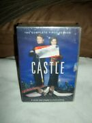 Castle The Complete 1-5 Season 5-disc Set Dvds New With Trading Cards 347