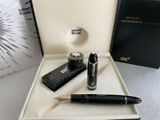 Platinum-coated Fountain Pen 149 Bb Nib With Ink Bottle