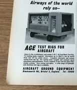 Sta48 Advert 5x4 Aircraft Ground Equipment The Age Test Rigs For Aircraft