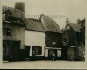 1933 Press Photo Row Of Old Homes In Historic Yarmouth England