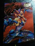 1995 Fleer Ultra Spiderman - Bloody Mary - Double Gold Foil Signature 7