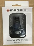 Magpul Mbus Pro Rear Sight Melonited All-steel New In Box