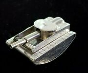 Antique Sterling Silver Lighter 1940and039s Tank Lift-arm Lighter Rarely Seen