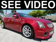 2011 Cadillac Cts Cts-v Coupe With V8 Supercharged 2011 Cadillac Cts-v Coupe Supercharger And Navigationbmwaudibenzsheibyvideo