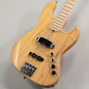 Atelier Z M245/s Natural Used Made In Japan Ash Body Maple Neck W/soft Case