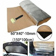 Sound Deadener Mat Car Heat Shield Insulation Cover With Adhesive Layer 60x 40