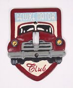 Cast Iron Light Switch Cover Plate 5.5andrdquo Deluxe Motor Club Old Car