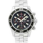 Breitling Superocean 44 A13341 Date Automatic Black Dial Mens Watch 90129541