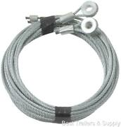 Enclosed Cargo Trailer Ramp Door Cable Replacement Kit Cables Only Pair 150 Inch