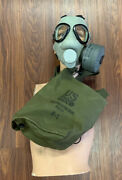 M9 Us Military Gas Mask Chemical Biological Army Marines Vintage M9 Gas Mask