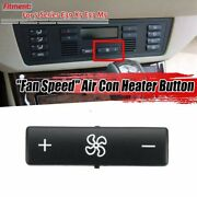 1x Car Climate Control Panel Button Switch Key Caps Air Control Fan Speed Heater