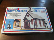 Life-like Town Church Building Kit 1350 For Ho Scale Train Layout Factory Seal