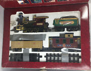 Greatland Express Train Set Battery Operated Complete 1992 Christmas Originalbox