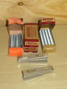 Lot Of 2 Vintage Bostitch Mini Staplers With 3+ Boxes Of Staples