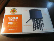 Bachmann 45153 Ho Scale Plasticville Water Tank Kit Building Kit New Sealed Nos