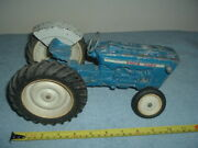 Vintage Ford 4000 Tractor By Ertl 1/12 Scale Parts Or Restore....