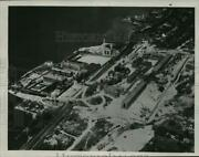 1934 Press Photo Aerial View Of The Sing Sing Penitentiary, Ossining, New York