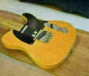 Fender Usa 2004 American Vintage Andrsquo52 Telecaster Butterscotch Blonde Used W/hc