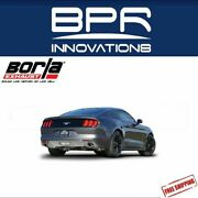 Borla Cat-back Exhaust Atak For 15-17 Mustang 3.7l V6 Except Convertible 140588